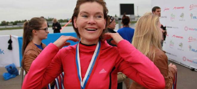 Триатлонистка Мария Колосова