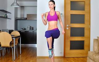 Как бегать на месте в домашних условиях, чтобы похудеть?