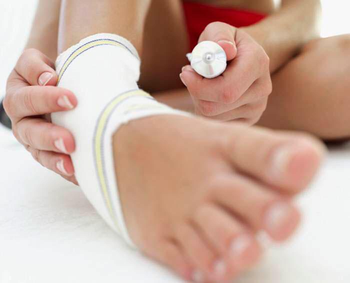 крем для ног спортсмена