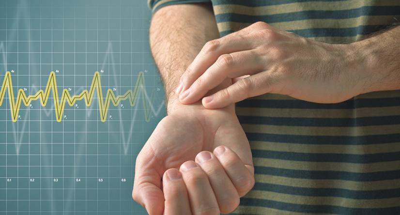 Правильное измерение пульса на руке