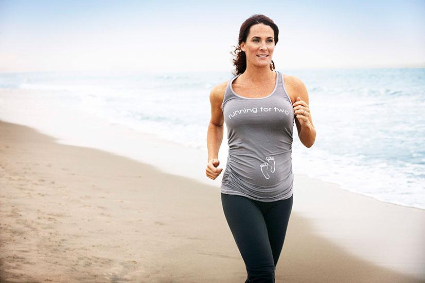 Вреден ли бег для беременных 30