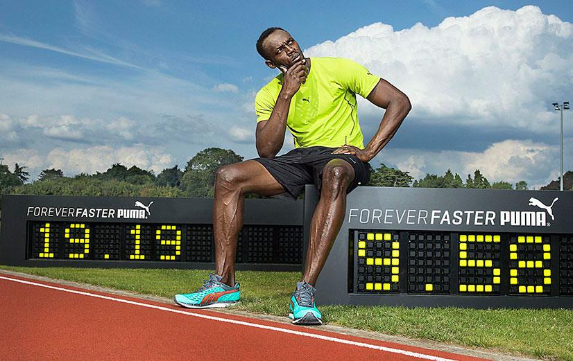 Усейн Болт и его мировой рекорд на дистанции 100 метров