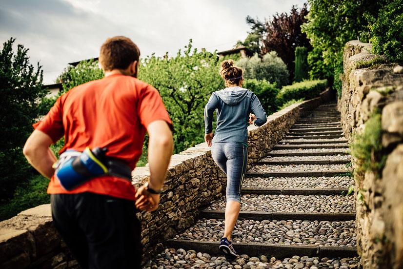 Бег по лестнице - польза, вред, план тренировок
