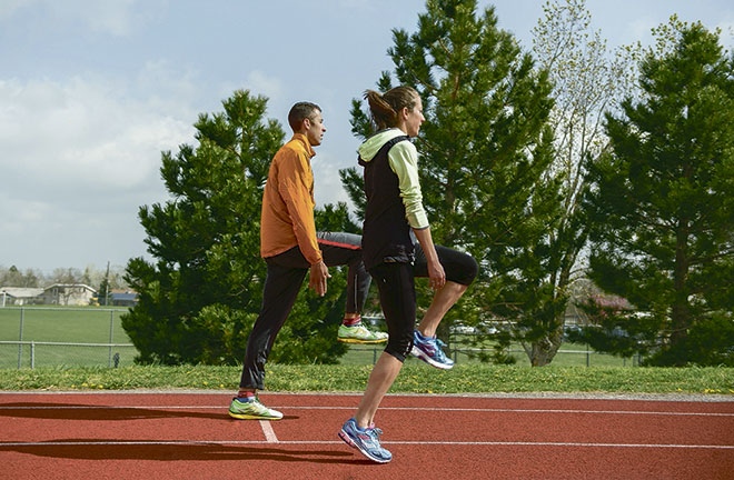 Комплекс беговых упражнений по легкой атлетике