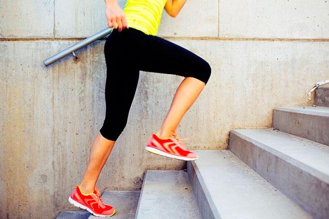 Польза и вред ходьбы по ступеньках