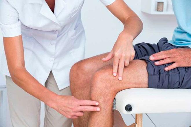 Диагностика и лечение щелчков в колене