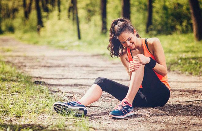 Причины неправильного движения ног при беге
