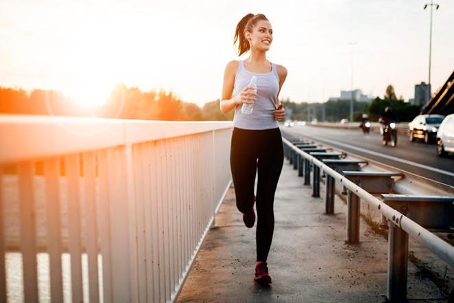 Бег натощак для похудения
